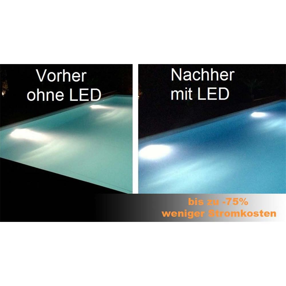 ersatz led schwimmbad 70w 12v pool beleuchtung lampe par56 led wei. Black Bedroom Furniture Sets. Home Design Ideas