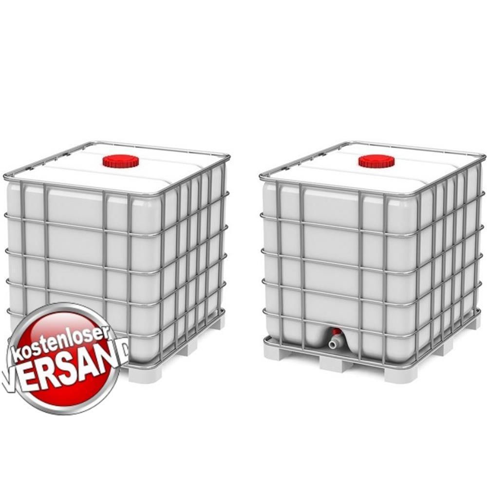 IBC Wassertank Set 12 x 12l auf Stahlpalette Design